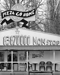 Pizza Go Home with non-stop service Copyright 2006 johncameron.ca